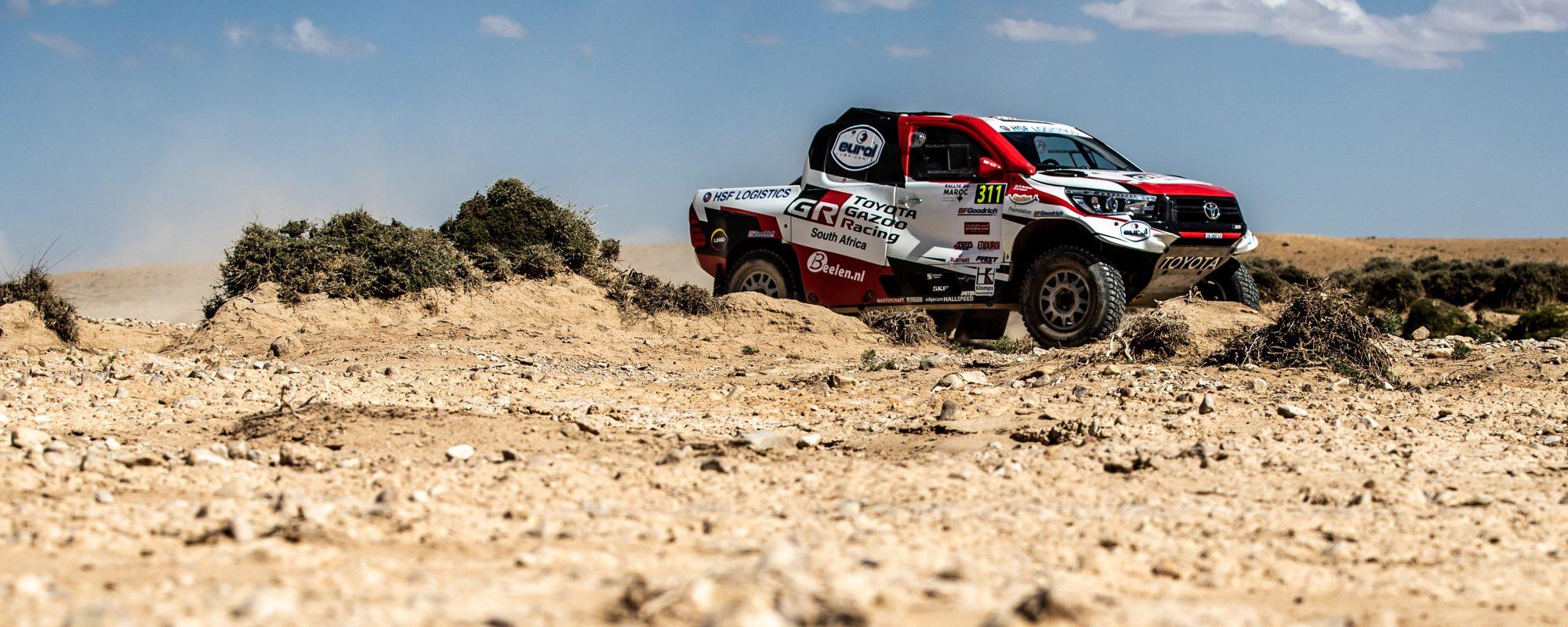 Bernhard ten Brinke met ambitie, realisme en Toyota Hilux naar Dakar 2019