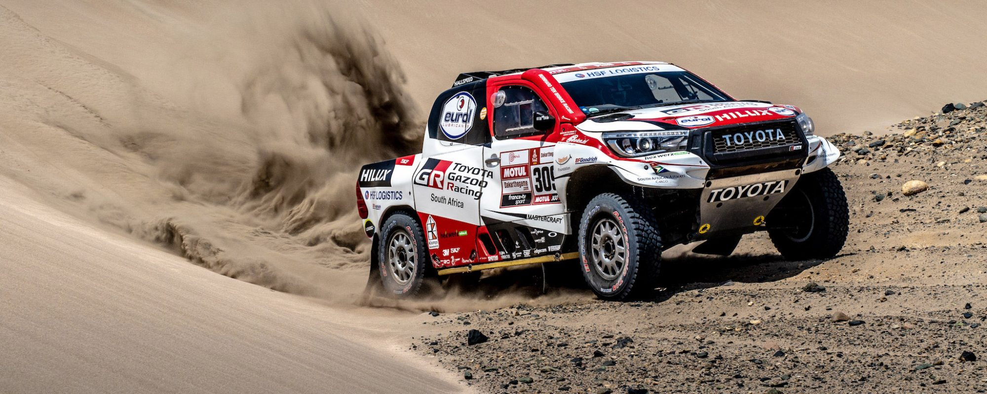 Bernhard ten Brinke terug in top 10 na echte Dakar dag