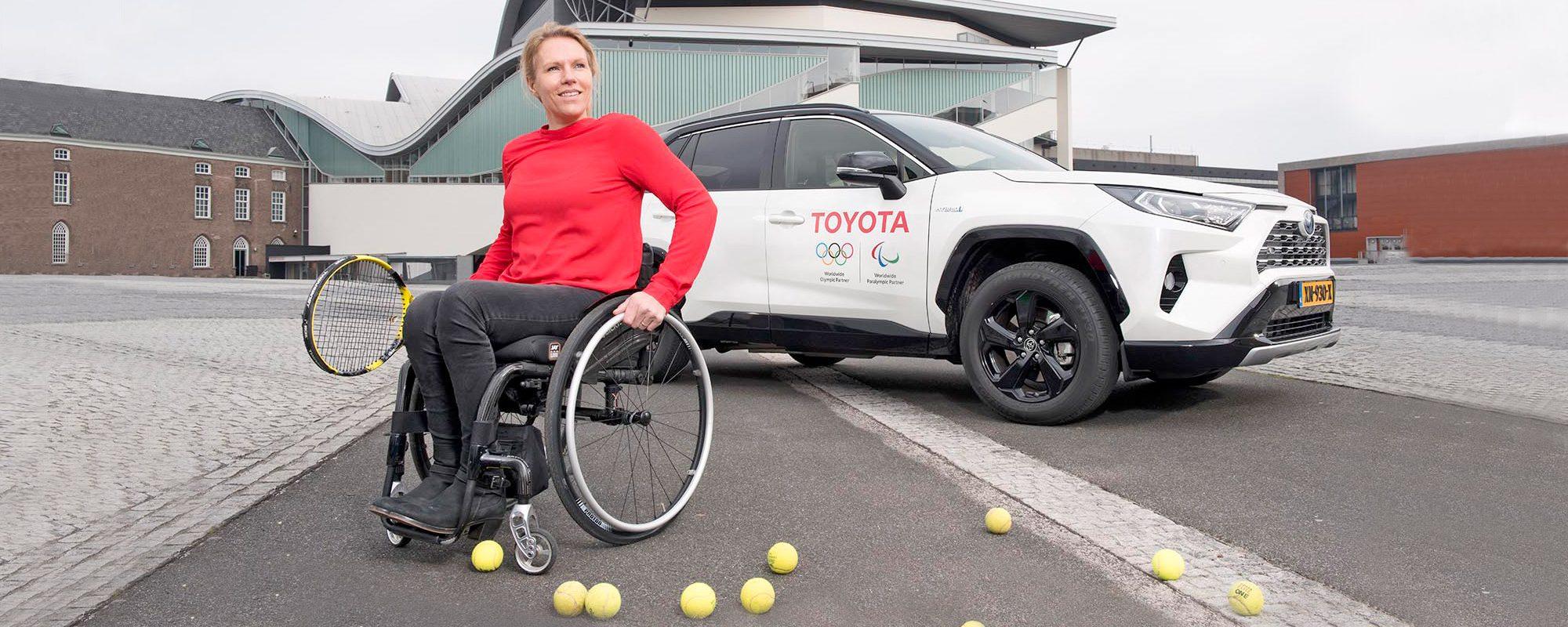 """Toyota ambassadeur Esther Vergeer: """"Gelijkwaardigheid doorvoeren tot elk haarvat van de sportwereld"""""""