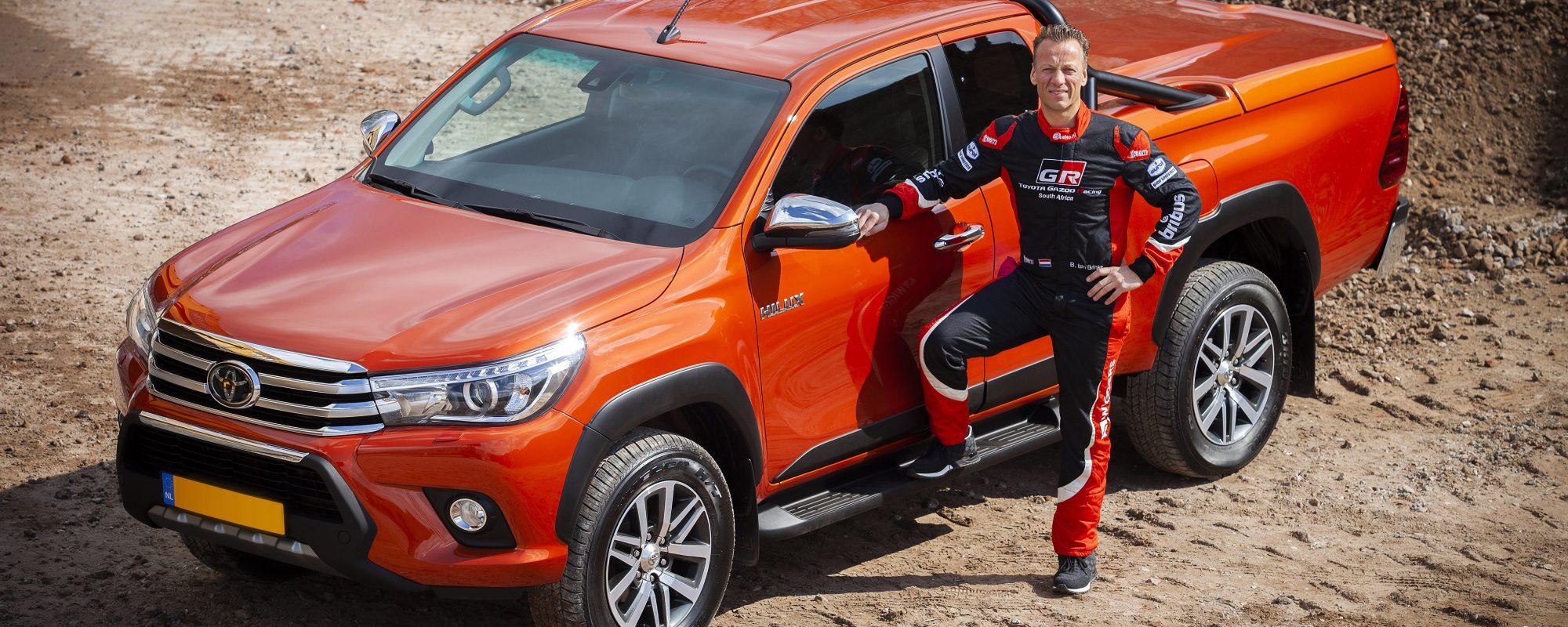 Toyota Hilux Challenger voor Dakar-coureur Bernhard ten Brinke