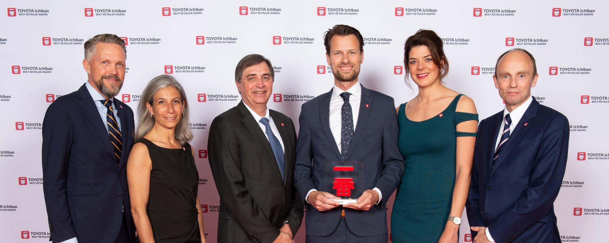 Toyota dealer Van Gent wint elfde klanttevredenheidsprijs op rij