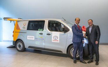 Toyota levert 50ste Zonnebloemauto