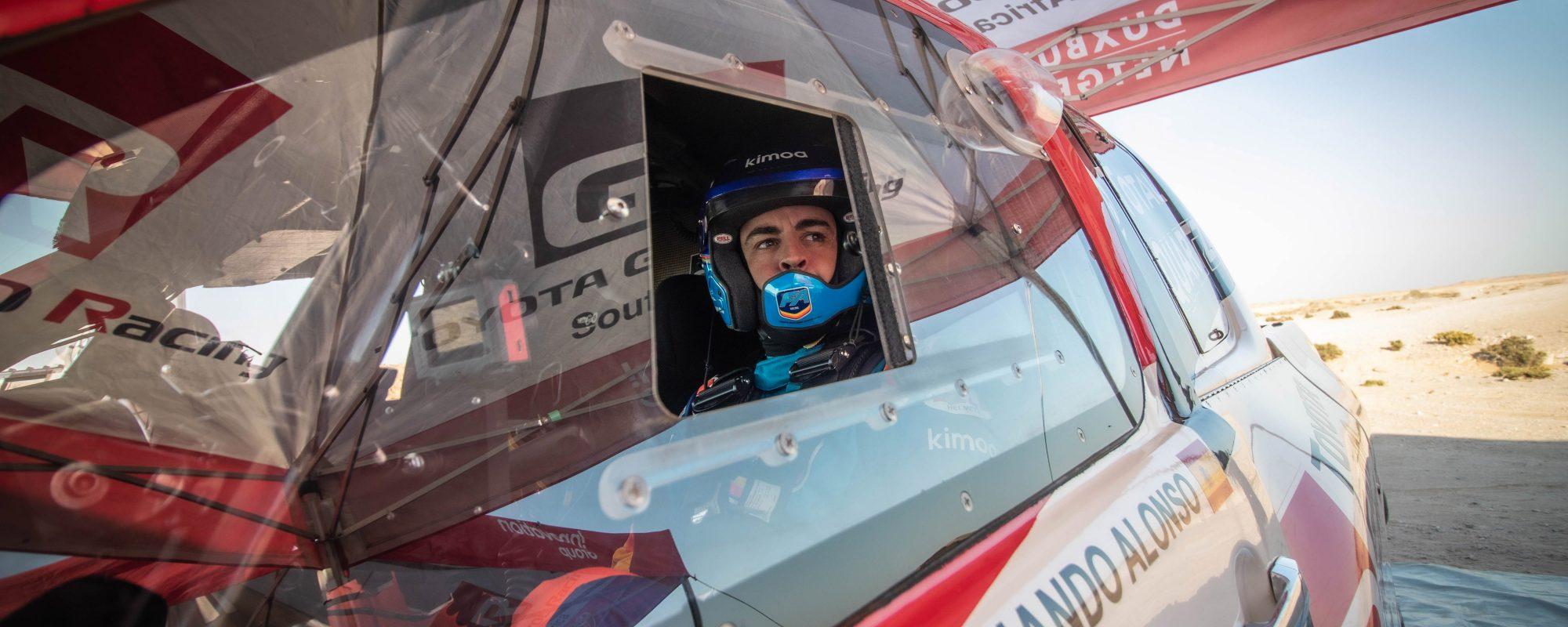 Fernando Alonso houdt deelname Dakar Rally met Toyota GAZOO Racing in het oog