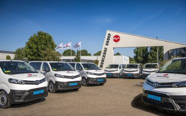 23 Toyota PROACE Taxi's voor Munckhof Groep
