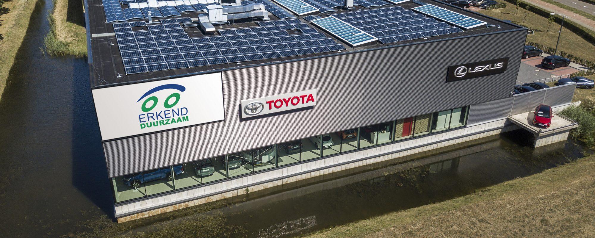 Toyota en Lexus dealerorganisatie als eerste Erkend Duurzaam Plus