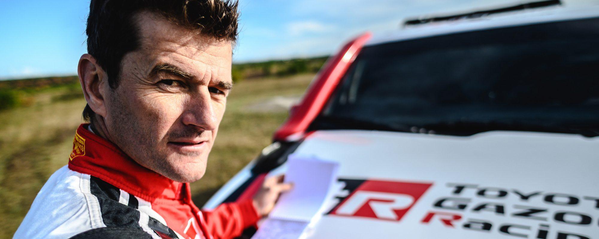 Dakar-veteraan Marc Coma navigator van Fernando Alonso bij TOYOTA GAZOO Racing