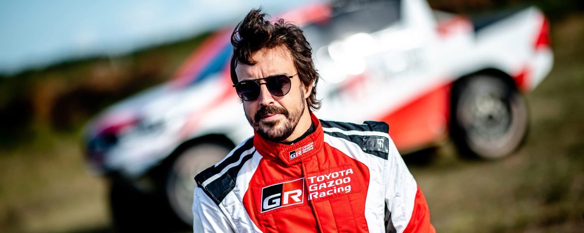 Fernando Alonso en Toyota GAZOO Racing brengen rallytraining op hoger plan