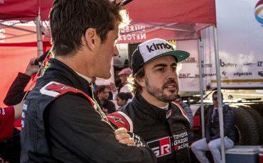 03-Fernando-Alonso-en-Marc-Coma-trotseren-uitdagende-zware-rallyproef