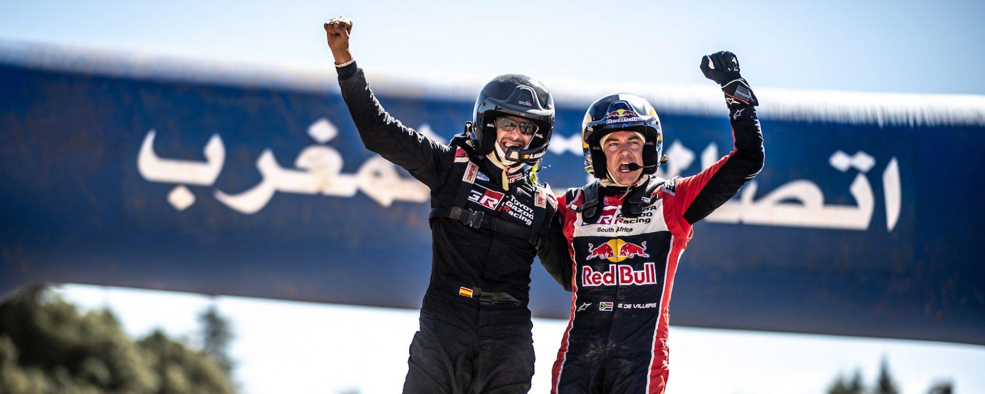 Toyota GAZOO Racing wint Rally van Marokko