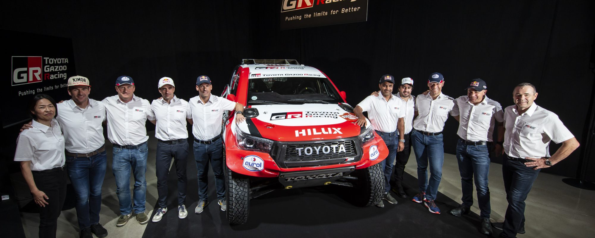 Toyota GAZOO Racing maakt rallyteams Dakar 2020 bekend