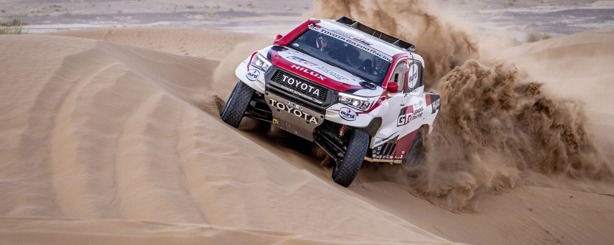 Toyota GAZOO Racing met rallygrootheden aan de start van de Rally van Marokko