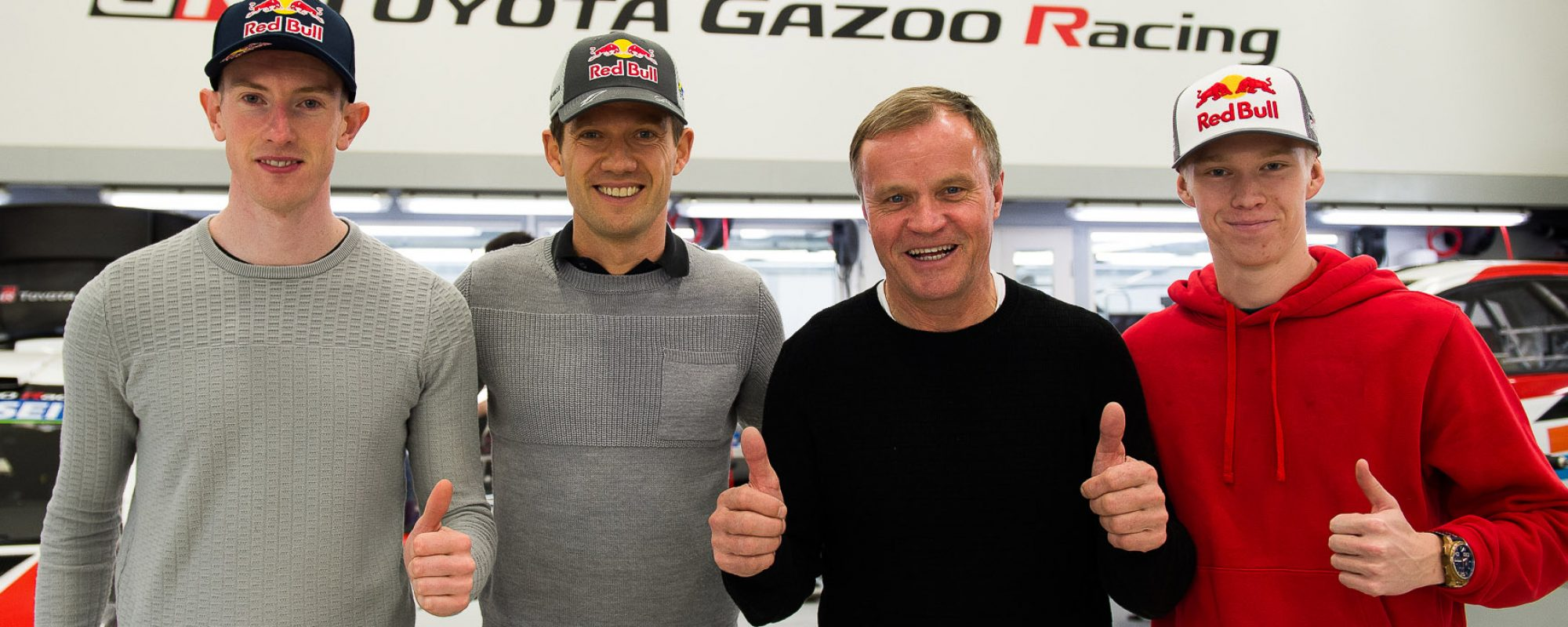 Toyota GAZOO Racing presenteert nieuwe WRC-coureurs