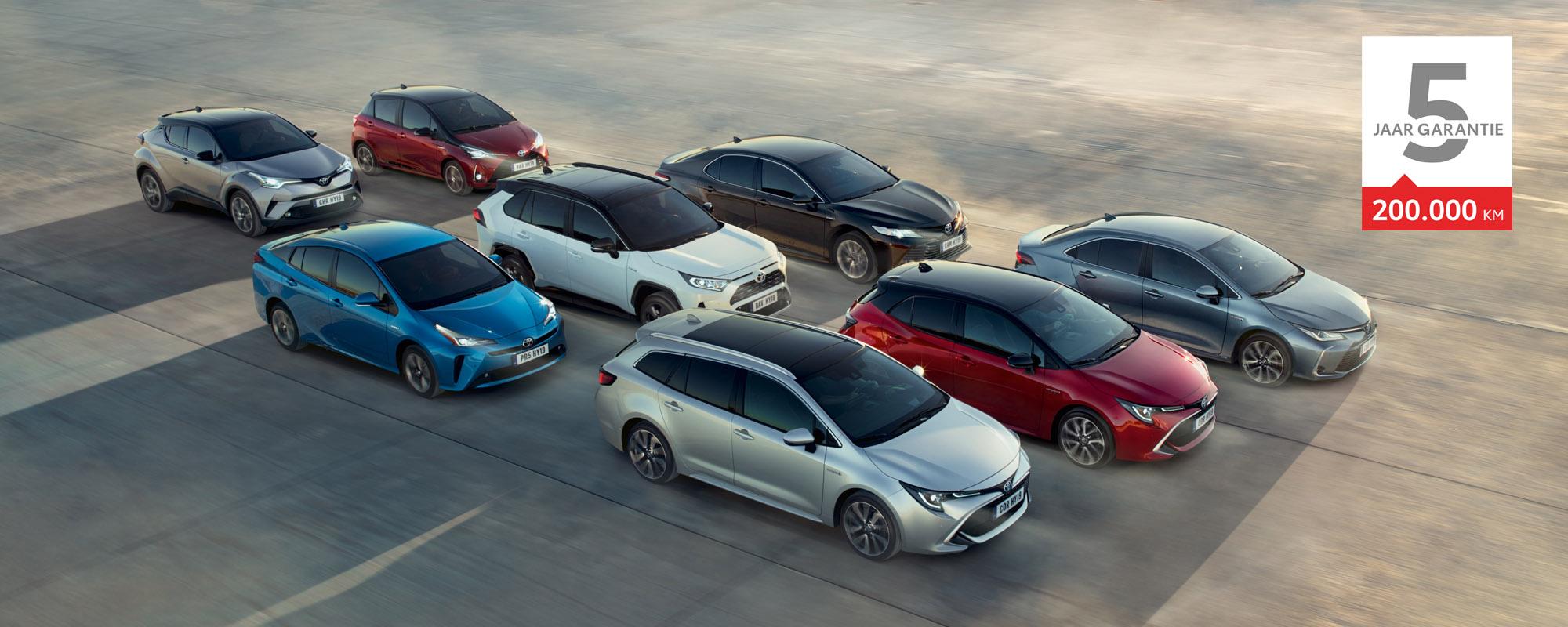 Voortaan standaard vijf jaar garantie op elke Toyota