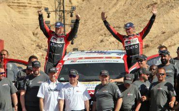 Bernhard ten Brinke evenaart beste prestatie in Dakar Rally