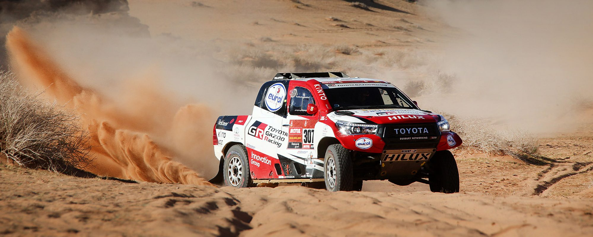 Bernhard ten Brinke consolideert in vijfde Dakar etappe