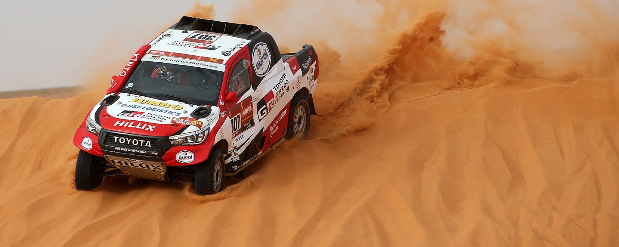 Bernhard ten Brinke hervindt topvorm in bloedsnelle Dakar etappe