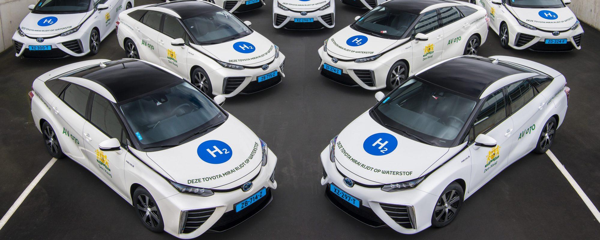 Taxivloot Toyota Mirai bereikt waterstofmijlpaal van 1,5 miljoen kilometers