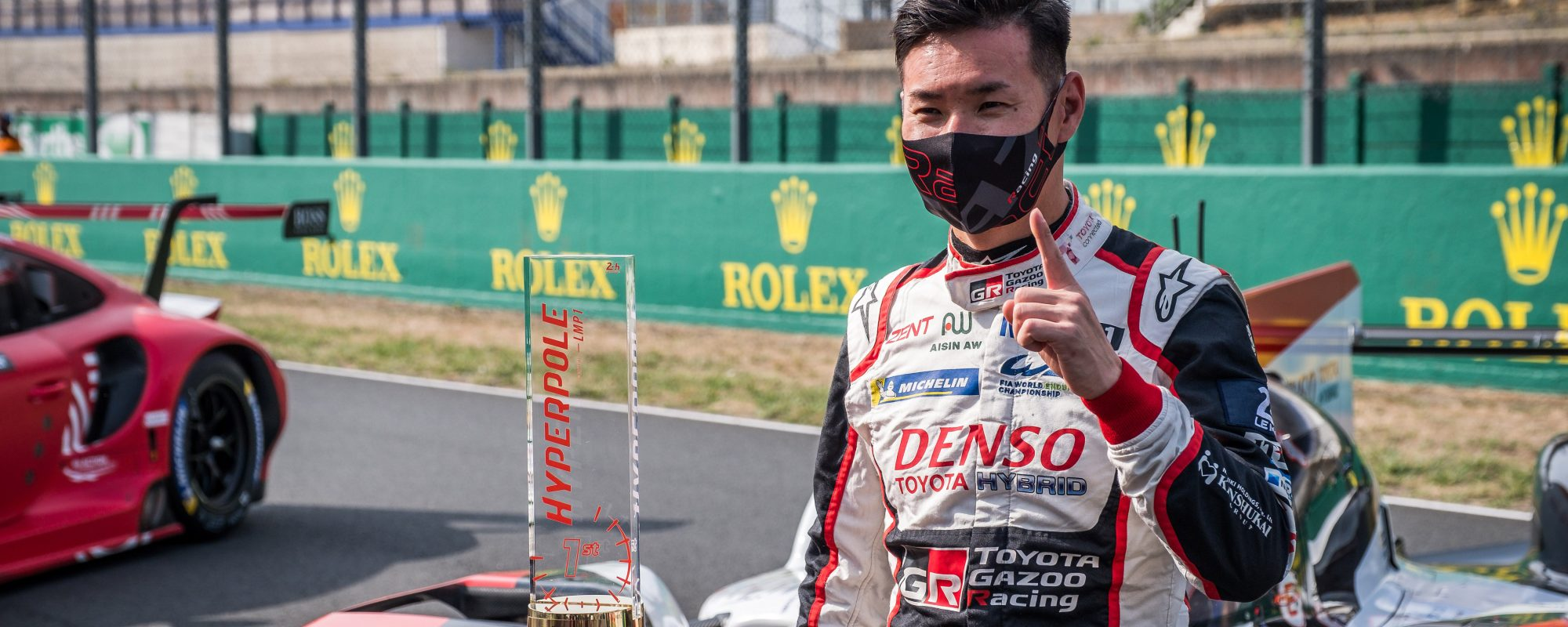 Toyota GAZOO Racing op poleposition 24 uur van Le Mans