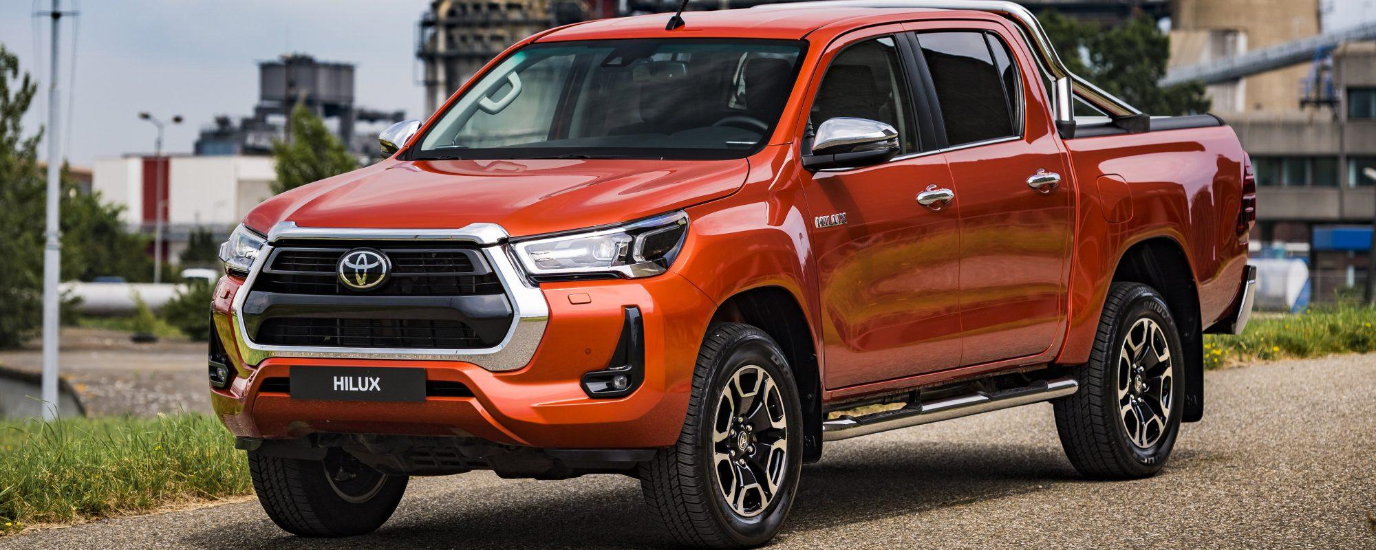 Toyota geeft vernieuwde Hilux een prijs