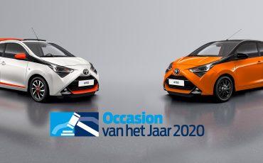 Toyota AYGO uitgeroepen tot Occasion van het Jaar 2020