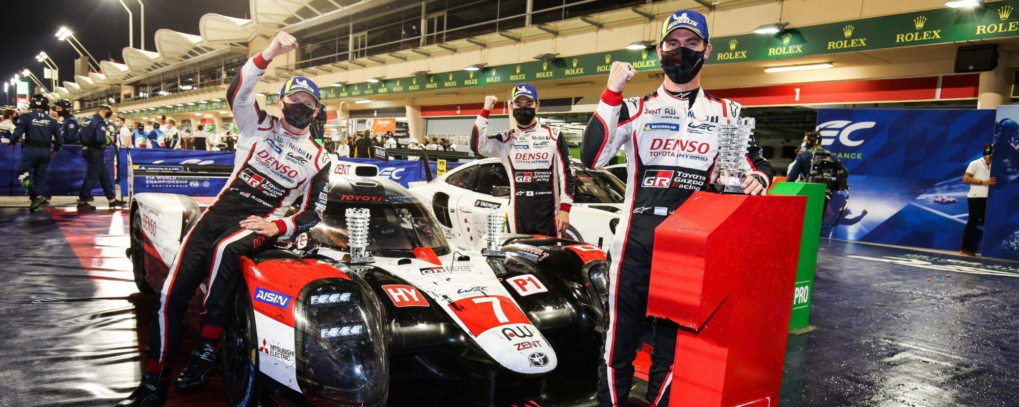 Toyota GAZOO Racing wint rijderstitel World Endurance Championship 2019-2020