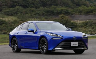 De volledig nieuwe waterstof elektrische Toyota Mirai