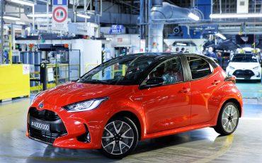Toyota produceert vier miljoenste Yaris in Europa