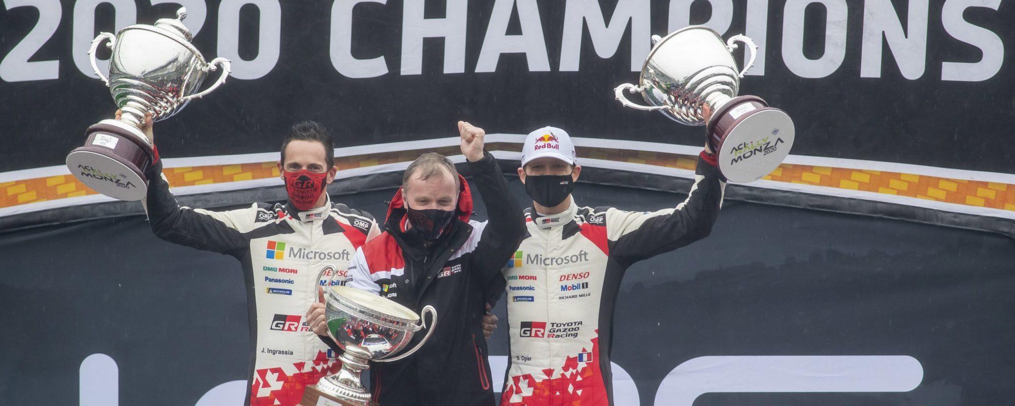 Toyota GAZOO Racing wint rijdersklassement WRC 2020