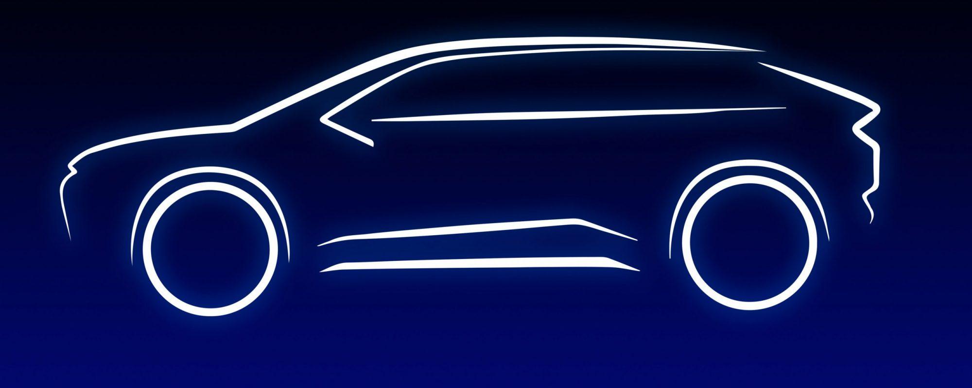 Toyota komt met zijn eerste batterij-elektrische midsize SUV