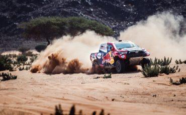 Al drie keer op rij etappewinst voor Toyota GAZOO Racing in Dakar 2021