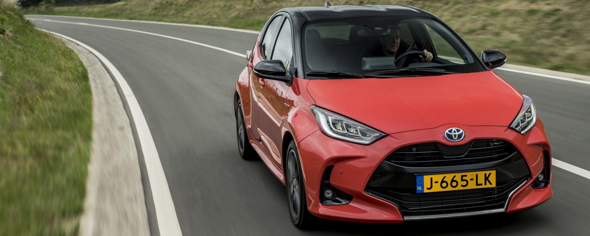 In 2020 Toyota populairste automerk onder particuliere kopers