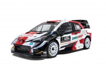 Nieuwe look voor rallykanon Toyota Yaris WRC