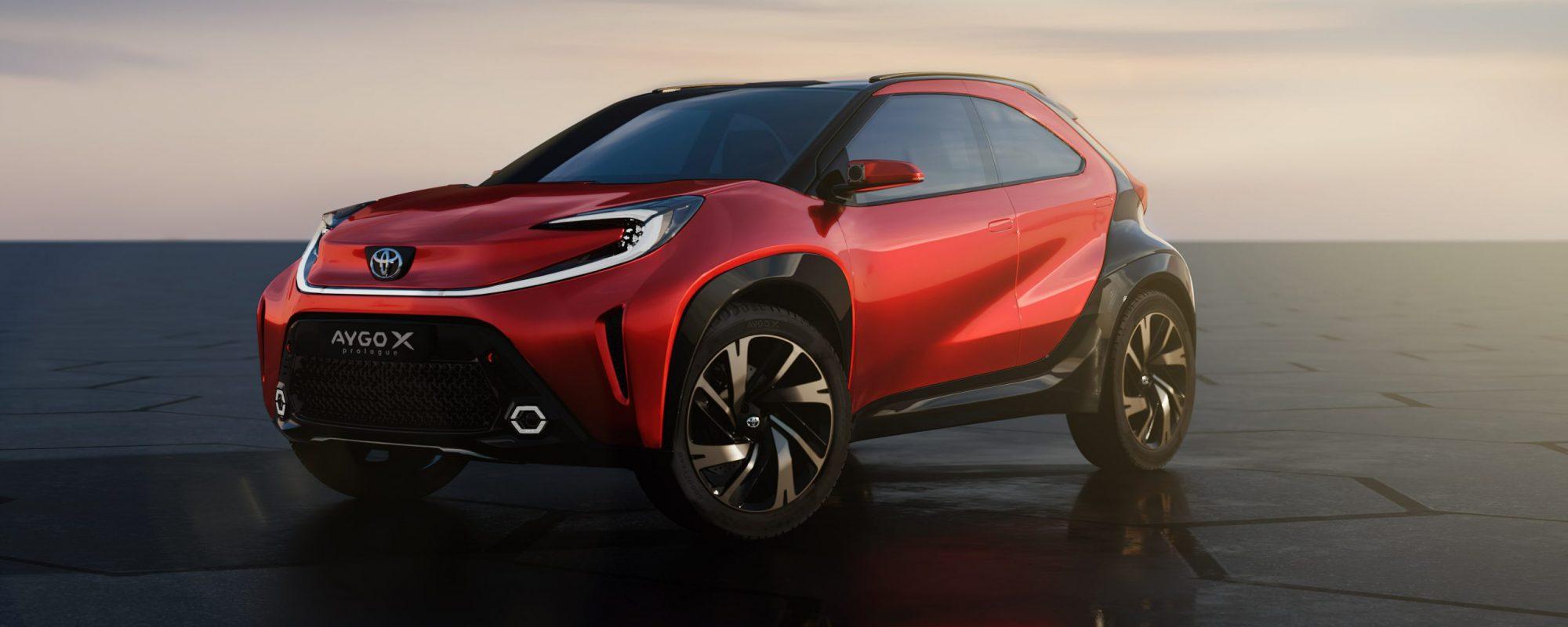 Aygo X prologue: verfrissende Toyota visie op A-segment