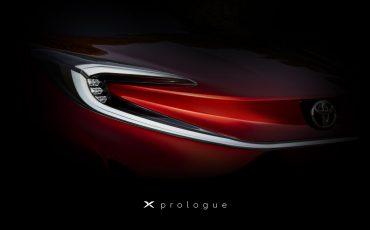 Toyota geeft teaser vrij van X prologue