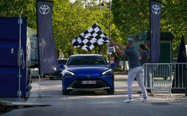 Toyota Mirai breekt afstandsrecord waterstof-elektrische auto's