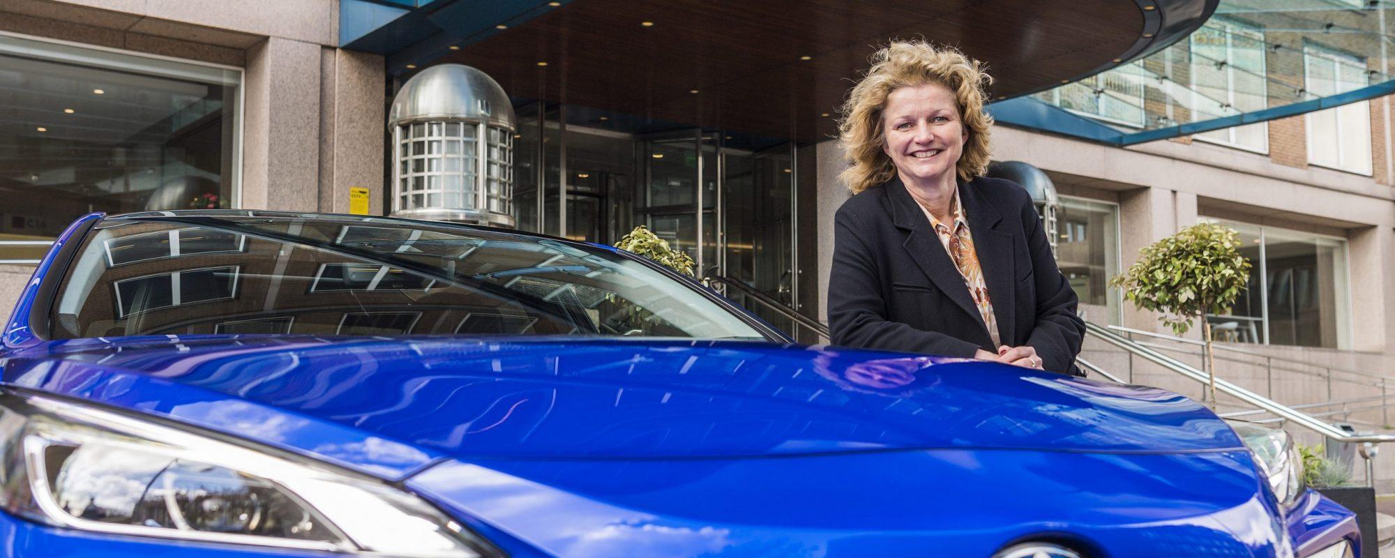 Marjan van Loon, president-directeur Shell Nederland, kiest opnieuw voor Toyota Mirai