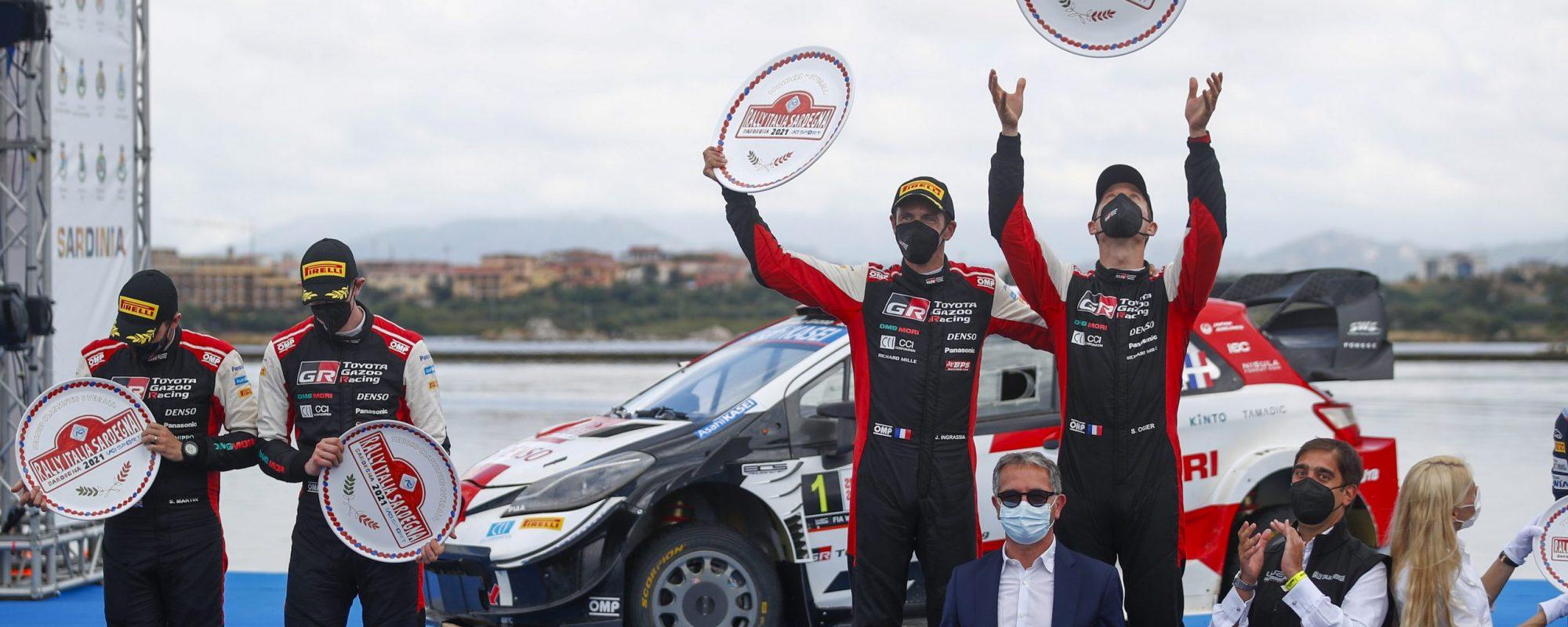 Toyota GAZOO Racing is de snelste tijdens de Rally van Italië