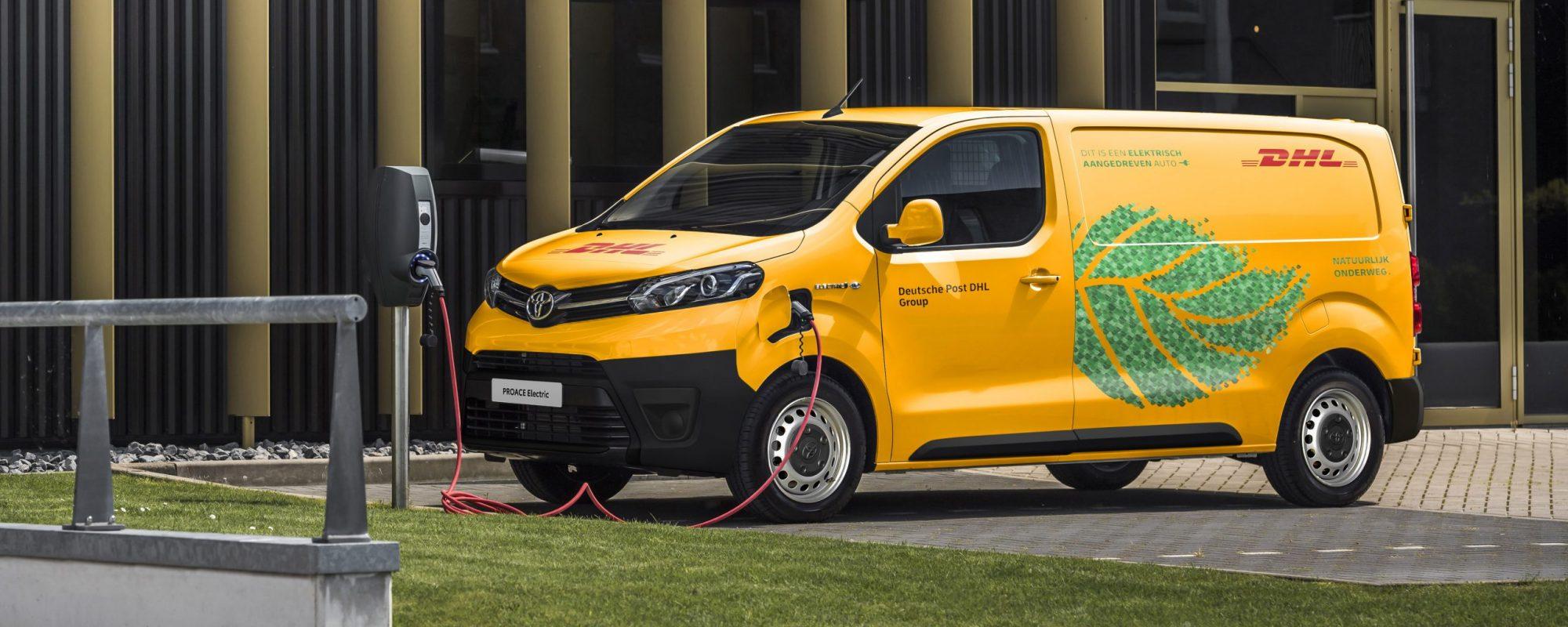 DHL Parcel kiest voor Toyota Proace Electric
