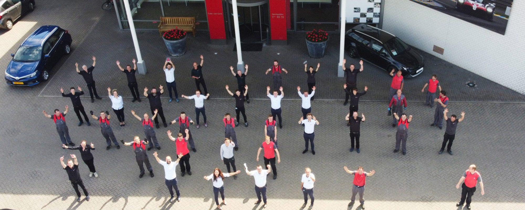 Toyota dealer Van Gent wint opnieuw klanttevredenheidsprijs