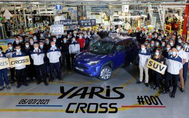 Toyota begint productie van nieuwe YarisCross