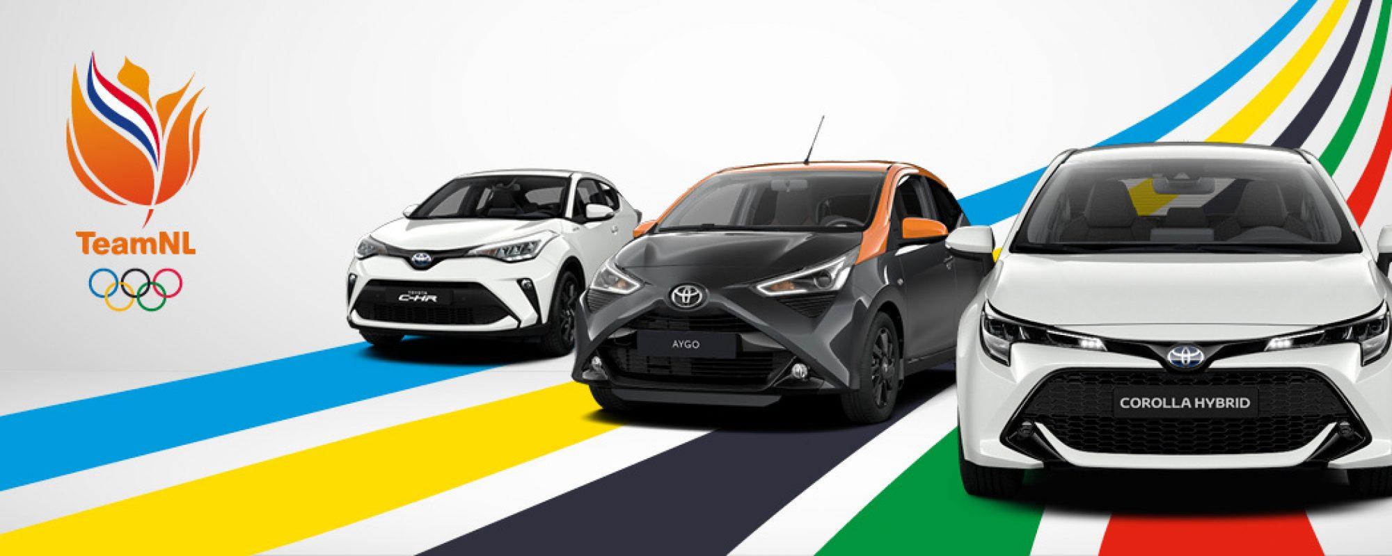 Toyota introduceert sportieve TeamNL-edities van zijn populairste modellen