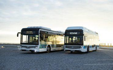 Toyota logo prijkt voortaan op emissievrije bussen van CaetanoBus