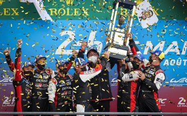 Vierde zege op rij: Toyota GAZOO Racing pakt winst in 24 uur van Le Mans