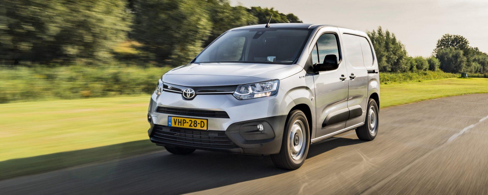 Toyota maakt prijzen Proace City Electric bekend: vanaf 25.995 euro, excl. btw