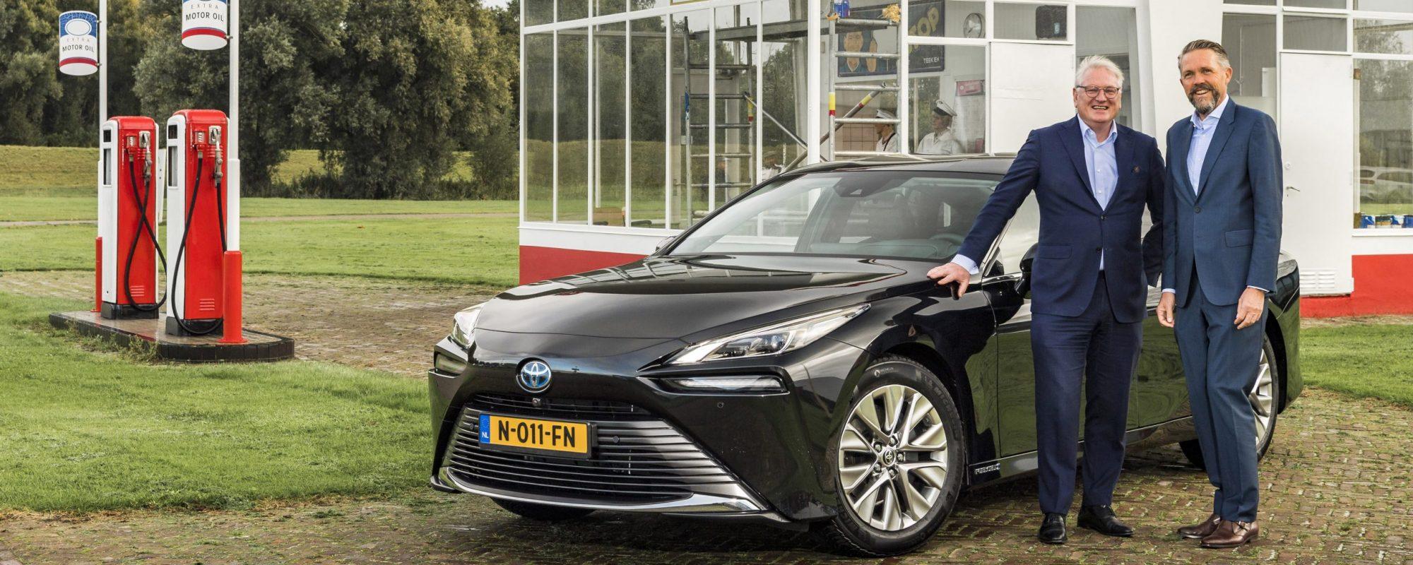 Directeur Koninklijke Nederlandsche Automobiel Club kiest voor waterstof-elektrische Toyota Mirai