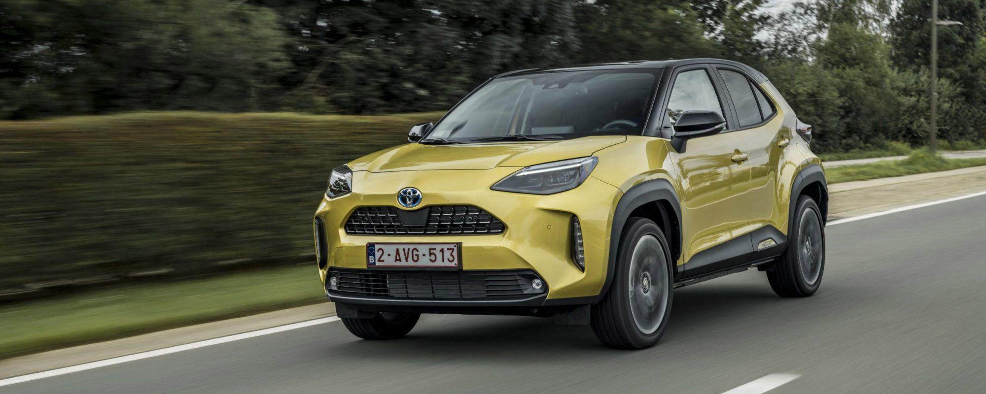 Toyota Motor Europe boekt uitstekende resultaten in eerste drie kwartalen 2021